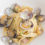Linguine pasta with clams and ginger